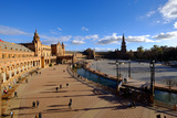 Plaza De Espana  Built for the Ibero-American Exposition of 1929  Seville  Andalucia  Spain