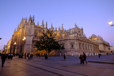 Seville Cathedral  Seville  Andalucia  Spain