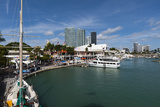 Bayside Marina  Downtown  Miami  Florida  United States of America  North America