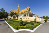 Throne Hall  Royal Palace  in the Capital City of Phnom Penh  Cambodia  Indochina