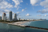 South Beach  Miami Beach  Florida  United States of America  North America