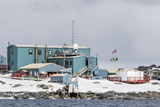 The United States Antarctic Research Base at Palmer Station  Antarctica  Polar Regions