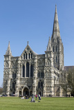 Cathedral  Salisbury  Wiltshire  England  United Kingdom