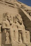 Colossi of Ramses Ii  Sun Temple  Abu Simbel  Egypt  North Africa  Africa