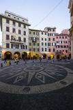 Piazza Caprera  Santa Margherita Ligure  Genova  Liguria  Italy  Europe