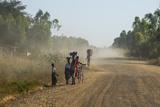Dusty Road  Mount Mulanje  Malawi  Africa