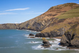 Llangrannog Beach  Ceridigion (Cardigan)  West Wales  Wales  United Kingdom  Europe
