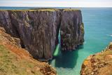 Stack Rocks  Castlemartin  Pembrokeshire Coast  Wales  United Kingdom