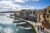 Venetian Harbour  Rethymno  Crete  Greek Islands  Greece  Europe