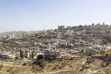 View over Bethlehem and the West Bank  Palestine Territories  Israel  Middle East