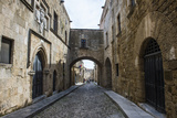 The Cobblestoned Street of the Knights