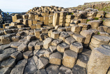 The Giants Causeway  County Antrim  Ulster  Northern Ireland  United Kingdom