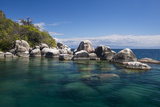 Turquoise Clear Water and Granite Rocks  Mumbo Island  Cape Maclear  Lake Malawi  Malawi  Africa