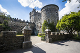 Glenveagh Castle in the Glenveagh National Park  County Donegal  Ulster  Republic of Ireland