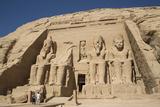 Tourists Enjoying the Site  Colossi of Ramses Ii  Sun Temple
