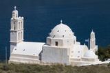 Agia Irini Church  Gialos  Ios  Cyclades  Greek Islands  Greece