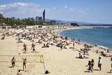 Barcelona Beach  Barcelona  Catalonia  Spain