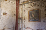 Frescoes  Casa Dell'Ara Massima  Roman Ruins of Pompeii  Campania  Italy