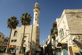 Street Scene in Bethlehem  West Bank  Palestine Territories  Israel  Middle East