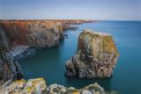 Stack Rocks  Castlemartin  Pembrokeshire  Wales  United Kingdom
