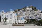 Chora  Ios  Cyclades  Greek Islands  Greece