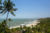 View over Vagator Beach  Goa  India  Asia