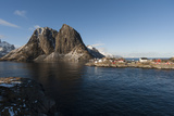 Hamnoy  Lofoten Islands  Arctic  Norway  Scandinavia