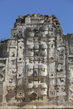 Chac Rain God Masks  Nuns Quadrangle  Uxmal