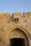 Jaffa Gate in the Old City  UNESCO World Heritage Site  Jerusalem  Israel  Middle East