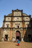 Basilica of Bom Jesus  UNESCO World Heritage Site  Old Goa  Goa  India  Asia