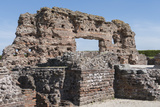 Old Roman City  Wroxeter  Shropshire  England  United Kingdom