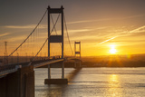 Old (First) Severn Bridge  Avon  England  United Kingdom