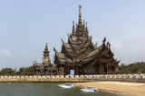 Sanctuary of Truth  Pattaya  Thailand  Southeast Asia  Asia
