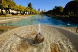 Fountain in the Alcazar De Los Reyes Cristianos  Cordoba  Andalucia  Spain