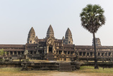 East Entrance to Angkor Wat  Angkor  UNESCO World Heritage Site  Siem Reap  Cambodia  Indochina