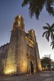 Cathedral De San Gervasio  Completed in 1570  Valladolid  Yucatan  Mexico  North America