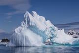 Arch in Iceberg  Cierva Cove  Antarctica  Polar Regions