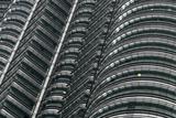 Petronas Twin Towers  Close-Up  Kuala Lumpur  Malaysia  Southeast Asia