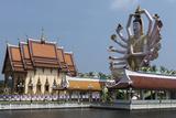 Choeng Mon Temple  Koh Samui  Thailand  Southeast Asia  Asia