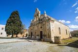 Historical Arkadi Monastery  Crete  Greek Islands  Greece
