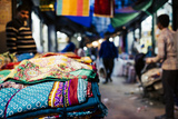 Shastri Textiles Market at Night  Amritsar  Punjab  India
