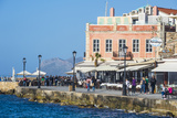 Venetian Harbour of Chania  Crete  Greek Islands  Greece  Europe