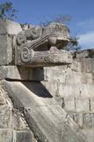 Platform of the Eagles and Jaguars  Chichen Itza  Yucatan  Mexico  North America