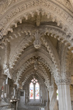 Vaulting in Rosslyn Chapel  Roslin  Midlothian  Scotland  United Kingdom