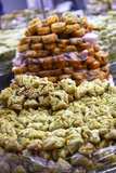 Baklava  an Arab Sweet Pastry at a Shop in the Old City  Jerusalem  Israel  Middle East