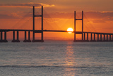 Second Severn Crossing Bridge over the River Severn  Southeast Wales  Wales  United Kingdom  Europe
