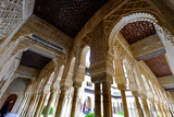 Palacios Nazaries  the Alhambra  Granada  Andalucia  Spain