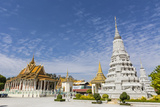 The Silver Pagoda (Wat Preah Keo) in the Capital City of Phnom Penh  Cambodia  Indochina