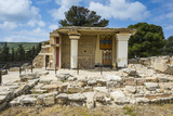 The Ruins of Knossos  the Largest Bronze Age Archaeological Site  Minoan Civilization