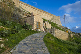 The Fortezza  Fortress in Rethymno  Crete  Greek Islands  Greece  Europe
